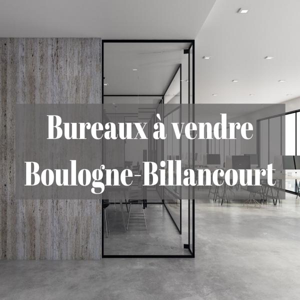 Vente Immobilier Professionnel Bureaux Boulogne-Billancourt 92100